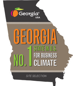 Georgia No. 1 State in U.S. for Business Climate